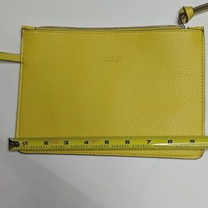 Zara Bags - Zara Basic Collection Yellow Wristlet NWOT